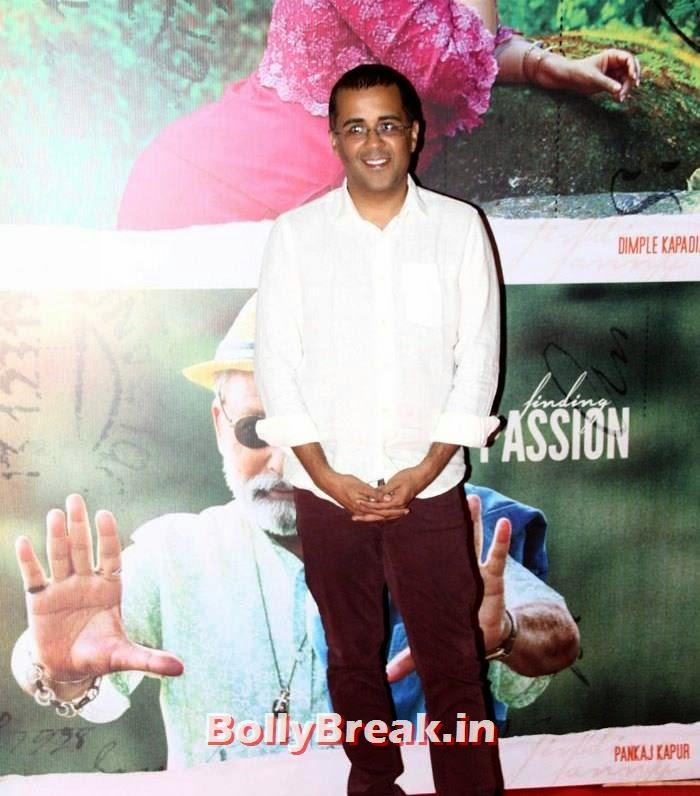 Chetan Bhagat, Kangna, Mughda, Kriti attend 'Finding Fanny' Special Screening
