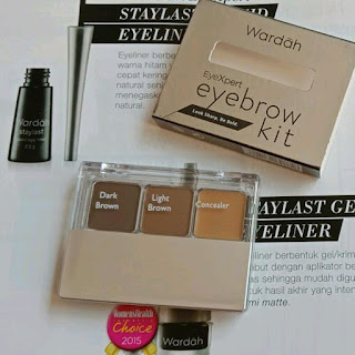Review Dan Harga Wardah Eyebrow Kit