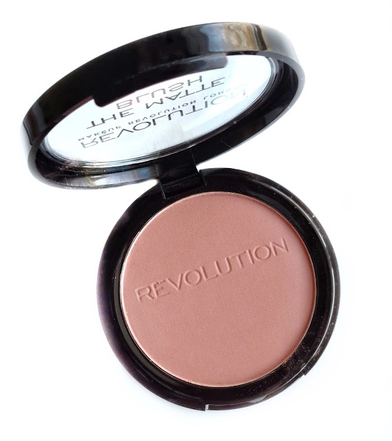 makeup revolution the matte blush in nude
