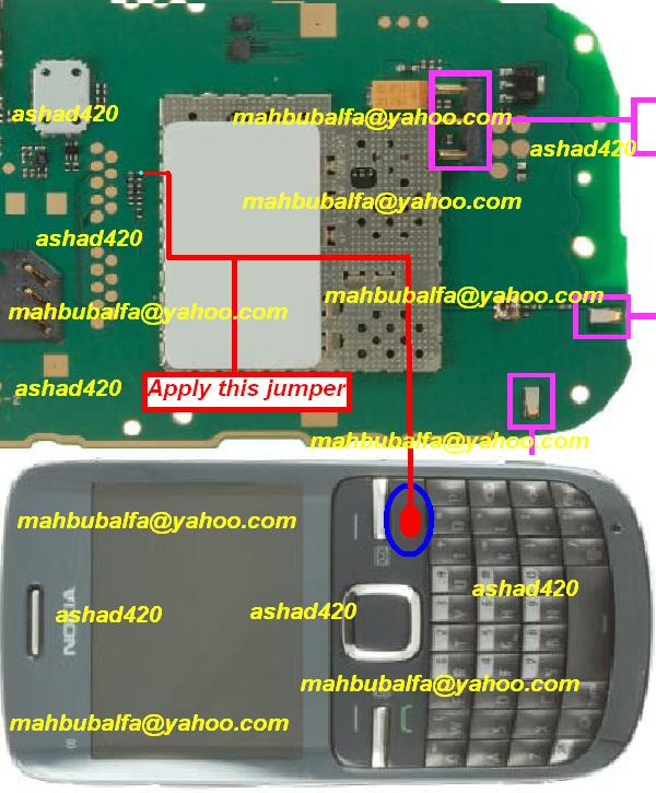 nokia c3 keypad diagram