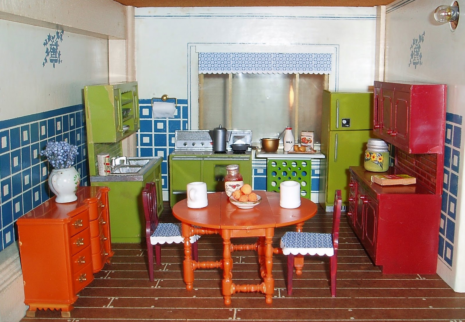 Dollhouse Kitchen Furniture My Vintage Dollhouses Miss Marx Little Hostess 1964 Meets Mr