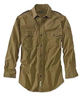 Orvis Long Sleeve Bush Shirt