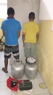 Em poucas horas Polícia de São Vicente do Seridó prende autores de arrombamento na cidade