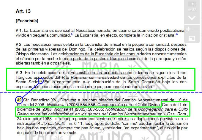 CruxSancta: Del porqué afirmamos que el Camino Neocatecumenal ...