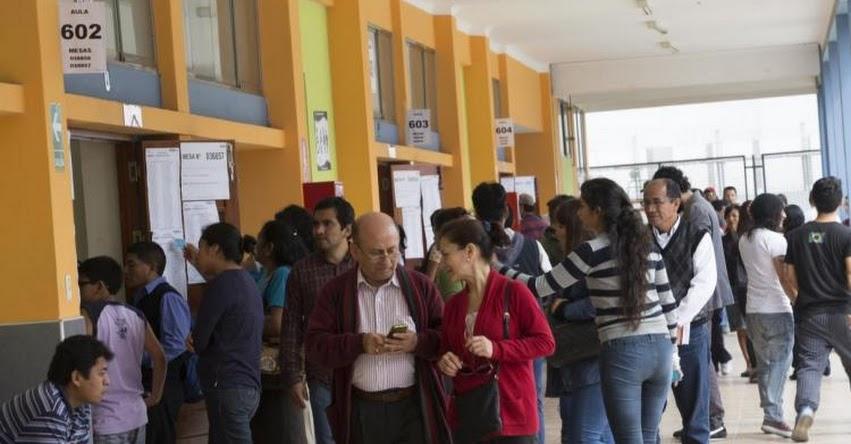 Docentes deben recuperar clases en los colegios que servirán de local de votación