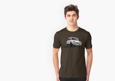 Citroën Ami 8 autopaita