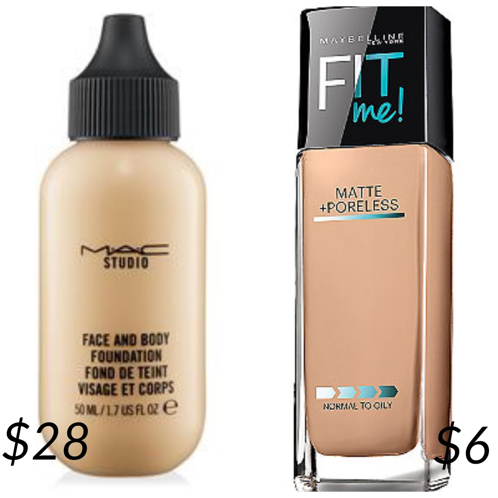 The best foundation for large pores