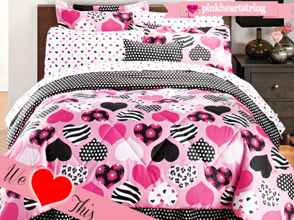 Little Luxuries: Heart Themed Beddings