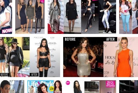 Kourtney Kardashian Weight Loss & Rebounding for Weight Loss Exercise