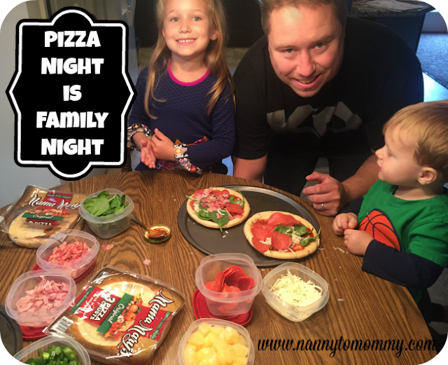 Pizza Night is Family Night with Mama Mary's®!