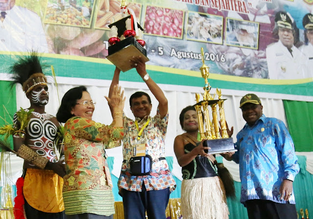 Kabupaten Merauke Juara Umum PEDA-KTNA 2016