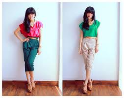 Fashion Wanita Kurus Pendek