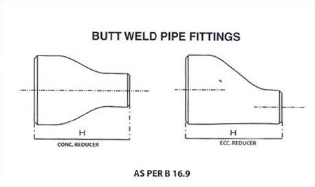 mechanical engineering concentric reducer  eccentric reducer pipe fittings