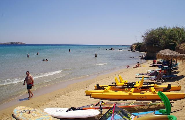 Paros Island Beaches