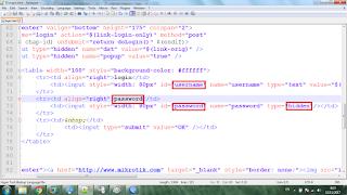 Cara Login Hotspot Hanya Menggunakan User tanpa Password (Voucher)