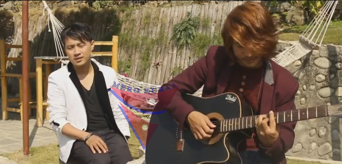 "Cover song by Rewat Rai and Debesh Rai "" Fulai Fulko Mausam Timilai"""