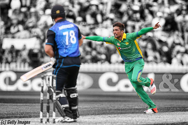 Mohammad Amir vs New Zealand