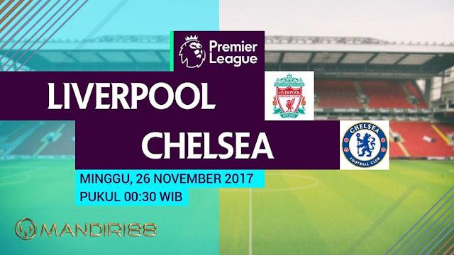 Liverpool akan menghadapi Chelsea pada pertandingan pekan ke Berita Terhangat Prediksi Bola : Liverpool Vs Chelsea , Minggu 26 November 2017 Pukul 00.30 WIB @ RCTI