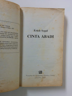 Only Love (Cinta Abadi) Erich Segal