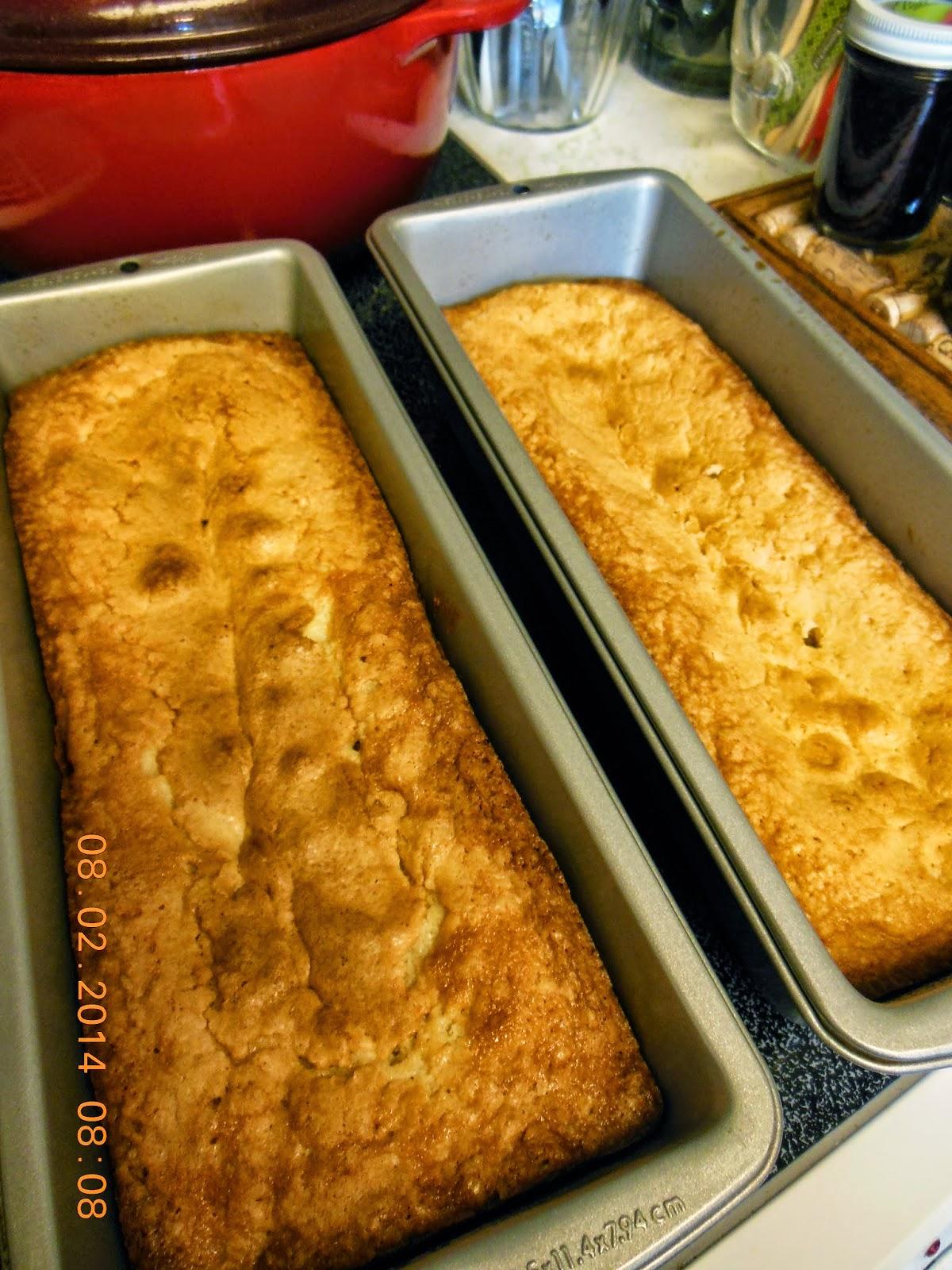 Cream Cheese Pound Cake.