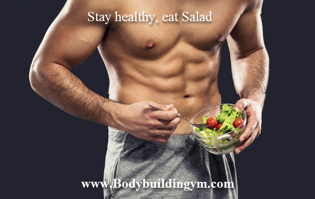Stay healthy eat Salad
