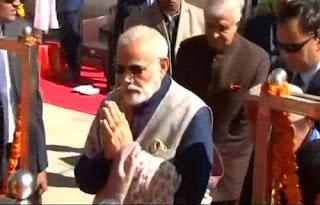 Prime Minister Narendra Modi Visits KEDARNATH