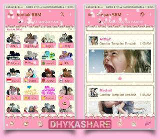 BBM Mod Hello Kitty Pink V3.3.0.16 Apk [BBM Mod HK-AAR v3.3.0.16 Apk]