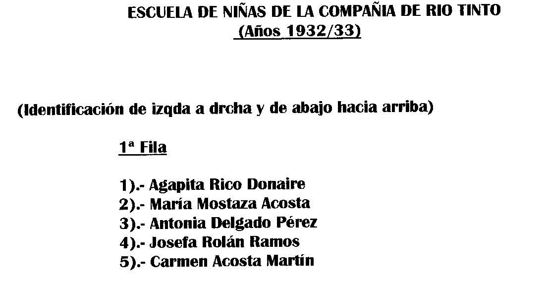 RECUERDOS DE RIOTINTO: ANTIGUA ESCUELA DE RT (4ª)