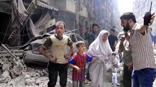 Senjata Kimia Syiah Suriah Adalah Tindakan Menjijikkan & Pelanggaran Mengerikan Terhadap Moral