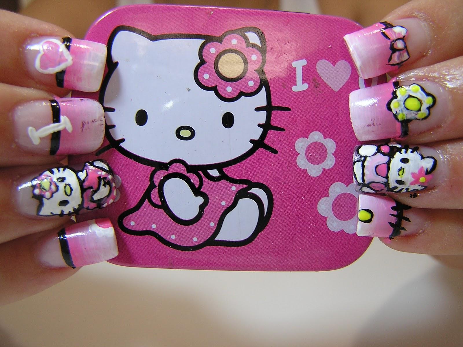 Neky Sus Uñas96 Hello Kitty