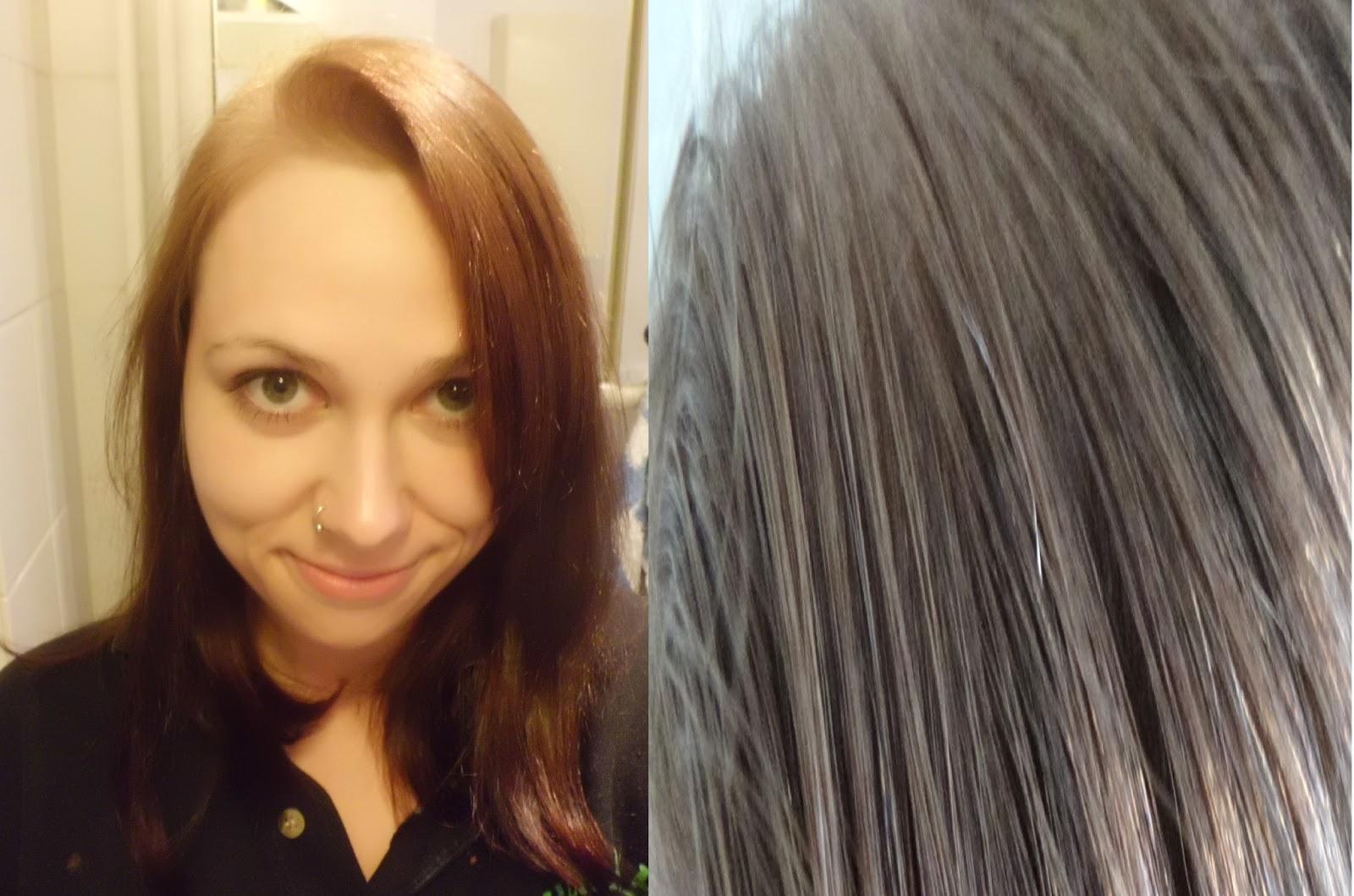 schwarze haare aufhellen