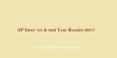 Andhra Pradesh inter Results 2017