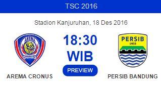 Arema Cronus vs Persib Bandung Diprediksi Berlangsung Sengit