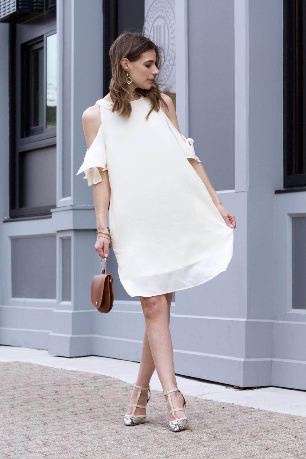 Entro Cold Shoulder Dress