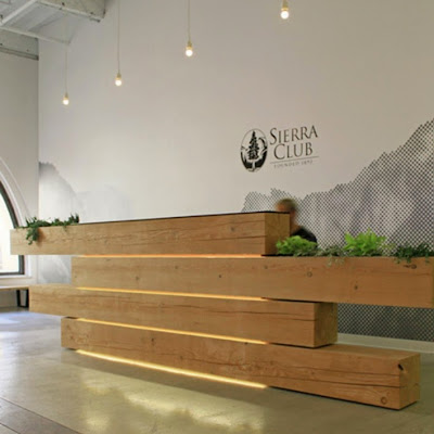 bureau de réception,design inhabituel