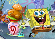Bob Esponja Dinner Defense