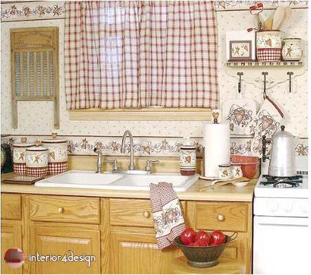 Elegant Kitchen Curtains 32