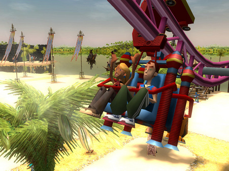 RollerCoaster Tycoon 3 Platinum PC Full Version Screenshot 2