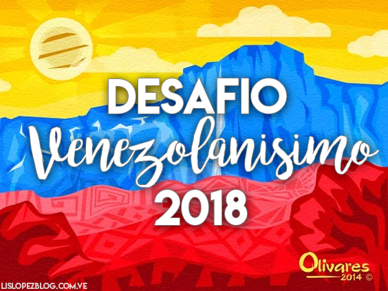 Desafio Venezolanisimo de Lectura 2018 #RetoVenezolanísimo