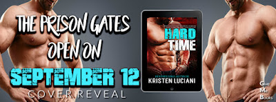 Cover Reveal // Hard Time by Kristen Luciani