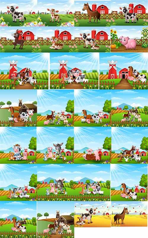 فيكتور حيوانات في المزرعة