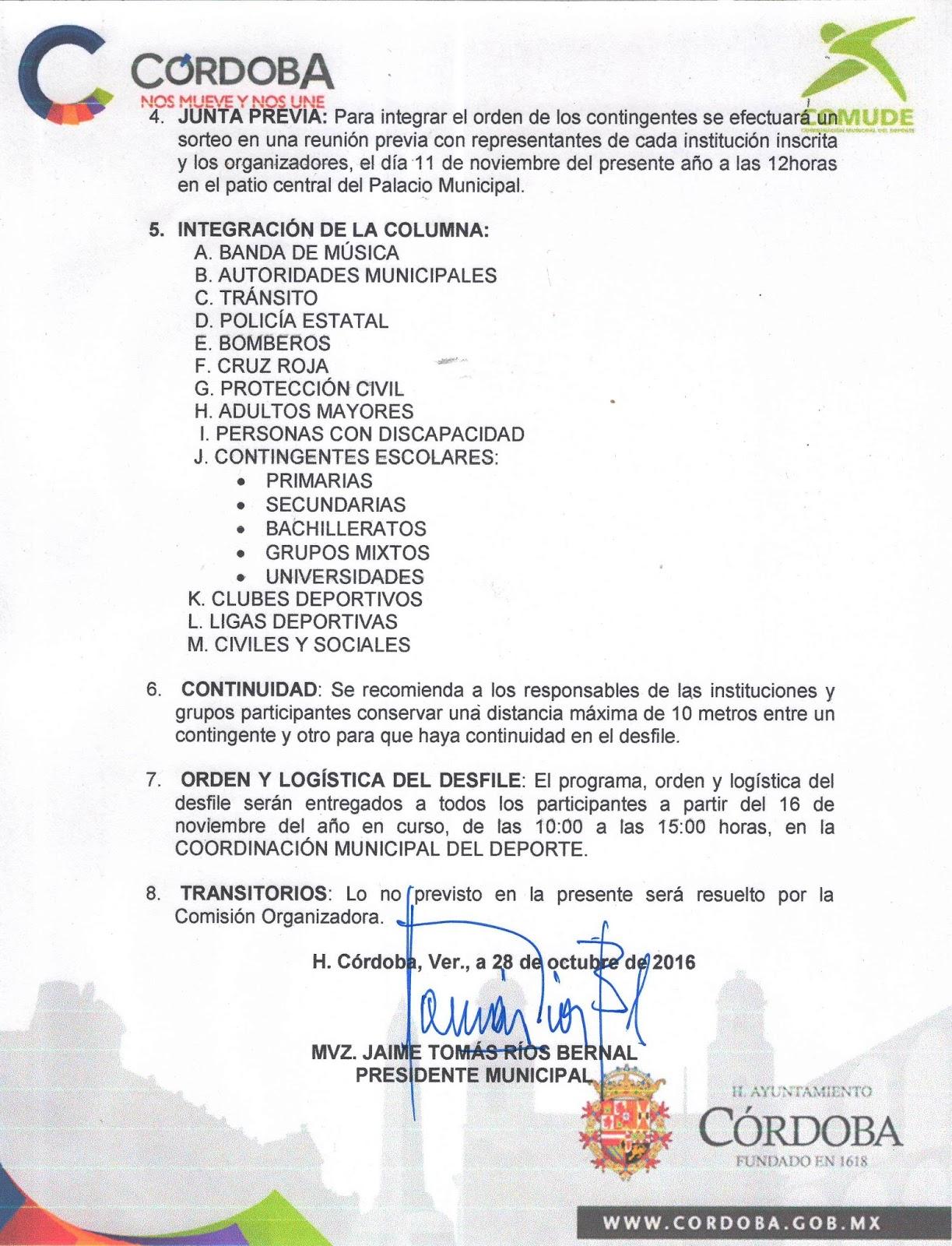 Convocatoria desfile 20 de noviembre 2016 zona 65 for Convocatoria para docentes 2016