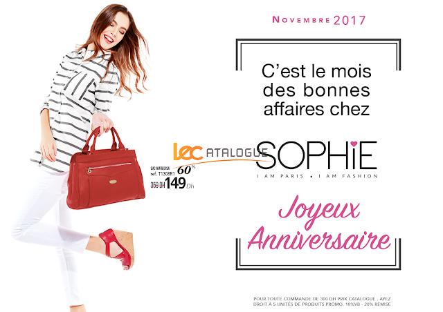 promos sophie paris novembre 2017