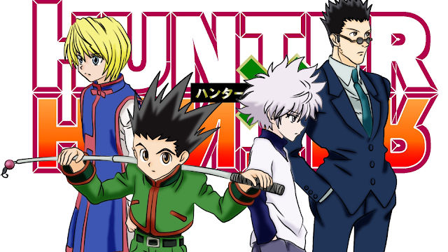 wallpaper hunter x hunter main characters