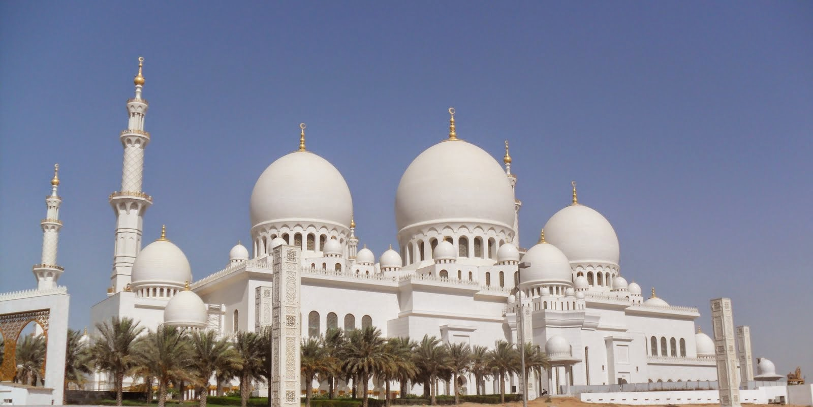 Abu Dhabi Grand Mosque Hd Wallpapers Fashionip