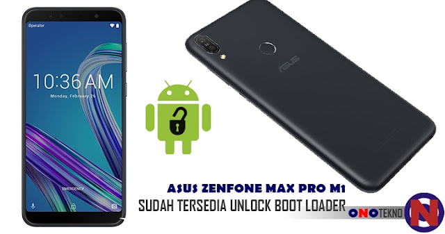 Unlock Boot Loader Asus Zenfone Max Pro M1