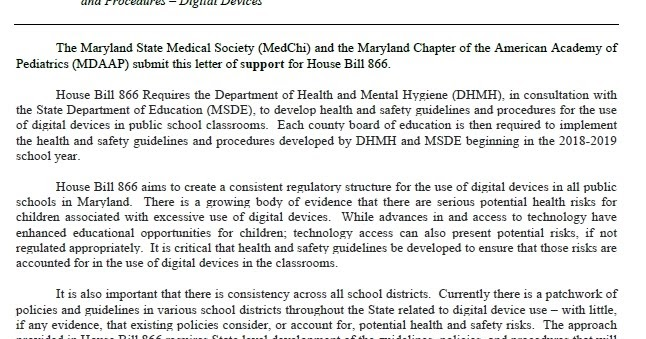 Safe Tech for Schools Maryland: Montgomery County Public