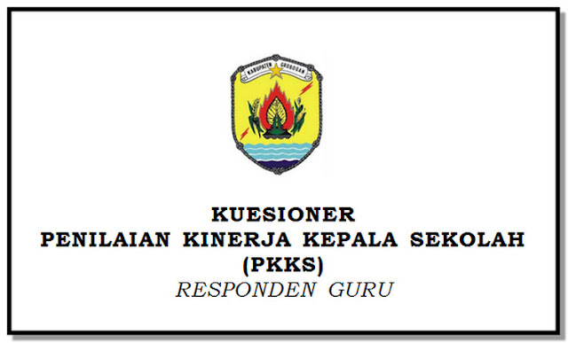 Kuesioner Instrumen Pendukung PKKS 2018