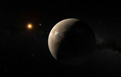 Exoplaneta Proxima b pode estar coberto de oceanos