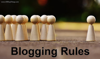 7 Blogging Rules to Follow for A Successful Blogging Journey